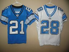 DETROIT LIONS GAME USED FOOTBALL JERSEY