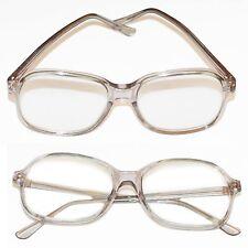 Jelly Readers Reading Glasses REAL GLASS Lens Women's Classic Gray Frame +1.00