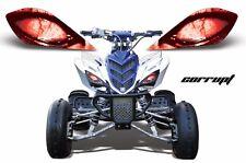 AMR Racing Head Light Graphic Decal Cover Yamaha Raptor 700/350/250 YFZ CORRUPT