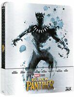 BLACK PANTHER STEELBOOK BLURAY 3D/2D NUEVO A ESTRENAR PRECINTADO