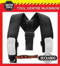 BUCKAROO LEATHER TMHB BLACK SHOULDER BRACES / SUSPENDERS FOR TOOL BELT