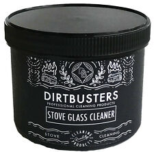 Stove glass cleaning paste 500g pot, wood burner, dual fuel glass cleaner