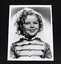 "Vintage 8""x10"" Black & White "" SHIRLEY TEMPLE "" Television Still Photo"