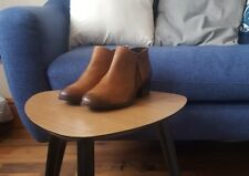 """Ladies DUNE """"PADINGTON"""" Tan Leather Chelsea Boots, SIZE 5, RRP £109 - BARGAIN"""