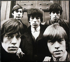 THE ROLLING STONES POSTER PAGE WITH BRIAN JONES LONDON 1964 . T1