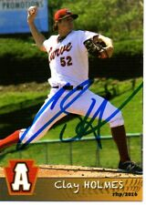 Clay Holmes 2016 Altoona Curve Signed Card