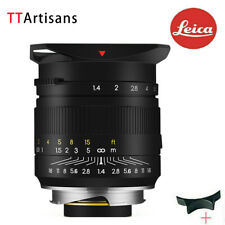 New Version TTArtisans 35mm F1.4 ASPH Full Fame Lens for Leica M Mount Camera