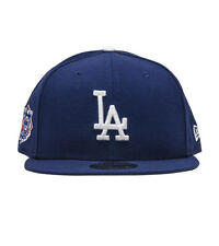 best service b379e d7fe3 Los Angeles Dodgers Blue NL Patch New Era 9FIFTY MLB Vintage Retro Snapback  Hat