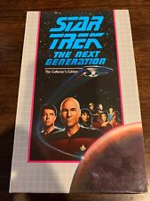 Star Trek The Next Generation Collector's VHS: THE NAKED NOW/CODE OF HONOR