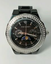 Yves Camani Laval YC1009 Ceramic watch with glittering Zirconia stones