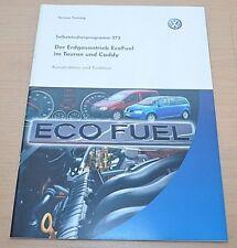 Selbststudienprogramm SSP 373 VW Der Erdgasantrieb Eco Fuel im Touran und Caddy