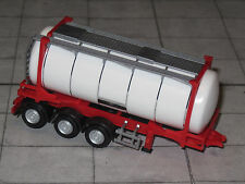 Herpa 076678 - Containerauflieger mit Swap-Container - rot