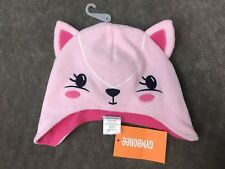 NWT 0-3 mos Gymboree BRAND NEW BABY 2 ruffled cotton HATS Pink Kitty Ballerina
