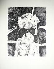 LANGLOIS Joan Gravure originale signée Abstrait