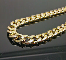 "10K Yellow Gold Miami Cuban Chain 8mm 26"", Franco, Rope, Italian"