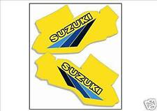 Suzuki RM125 RM 125 1983 Tank Decals Graphics Stickers