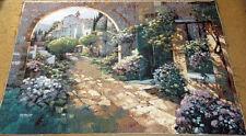 Villa Cipriani Arco Grande Tapiz Decoración De Pared Crafters Tejido Retazos