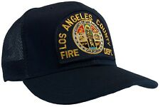 Los Angeles County Fire Department Hat Ball Cap MESH BACK
