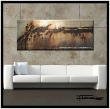 ABSTRACT CANVAS  PAINTING Modern Wall Art 60in USA    ELOISExxx