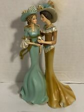 Thomas Kinkade Figurine My Granddaughter Now My Friend Collection #0135M