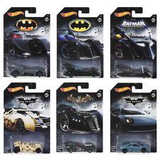 DC Batman Series Vehicles Hot Wheels 2018 Complete Set of 6