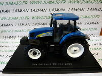 TR3W Tracteur 1/43 universal Hobbies n° 152 : NEW HOLLAND TS135A 2003