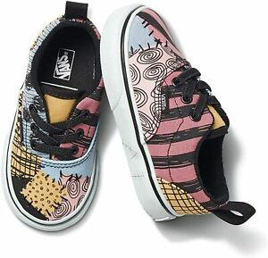 Vans Toddler X Disney Era Sally Nightmare Before Christmas Elastic Lace Shoes