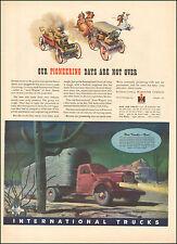 1943 Vintage ad for International Truck`Art Cactus Internation Harvester(020417)