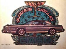 70s Cadillac Eldorado DeVille Seville Coupe Champagne Pimp vtg t-Shirt Iron-On