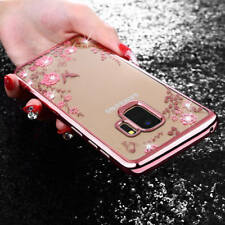For Samsung S9 S8 J3 J5 J7 Note8 Bling Glitter Diamond Soft Silicone Case Cover
