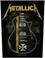 Metallica - Hetfield Guitar Patch 14-inch Over-Sized Memorabilia James Hetfield