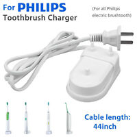 For All Philips Toothbrush Travel Charger Sonicare Flexcare Healthy HX6100 White