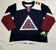 COLORADO AVALANCHE size 56 = XXL - Alternate 3rd Style ADIDAS NHL HOCKEY JERSEY