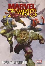 COMICS MARVEL - ZOMBIES > VOMULE 3, OPERATION ANTIDOTE / INTEGRALE DELUXE, NEUF