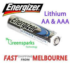 2-16X New Genuine Energizer Ultimate Lithium AA & AAA Batteries *2039/40 EXPIRY*
