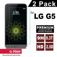 2x Premium Tempered Glass Screen Protector Film for LG G5