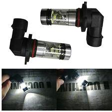 2X H10 9005 9006 6500K 100W MCD 20LED HID White 2323 Fog Driving DRL Light Bulbs
