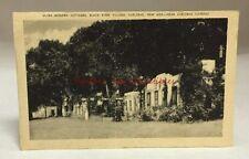 Antique Artvue Postcard Black River Village Cottages Carlsbad New Mexico Pc