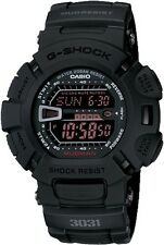 NEW CASIO G-SHOCK G9000MS-1 MILITARY BLACK MUDMAN WORLD TIME WATCH NWT!!!