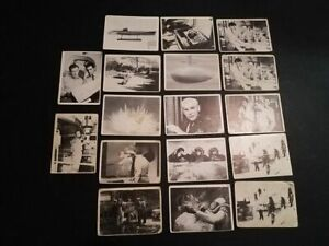 1964 VOYAGE TO THE BOTTOM OF THE SEA CARDS LOT OF 17 INCL. COUPLE OF DOUBLES