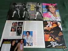 "MICHAEL HUTCHENCE - ROCK MUSIC- ""CLIPPINGS /CUTTINGS PACK"""