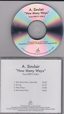 A. SINCLAIR - How Many Ways - 2014 CD SINGLE
