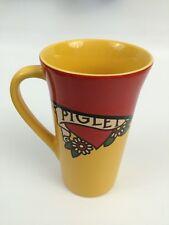 NEW DISNEY STORE PIGLET Tall Yellow Coffee Mug Winnie The Pooh