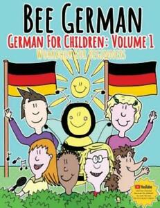 German For Children: Volume 1: Entertaining And Constructive Worksheets, Ga...