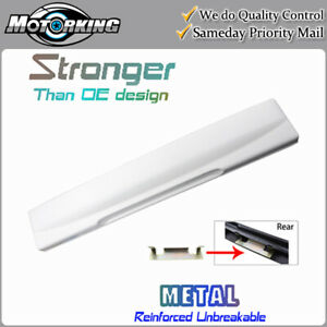 Tailgate License Plate Shield Handle for 2002-2005 Ford Explorer YZ Oxford White