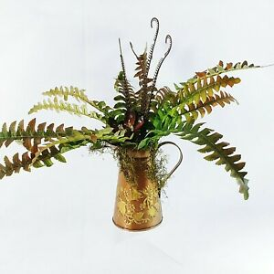 Floral Arrangement Pitcher Home Decor Handcrafted By Collins Creek Collections