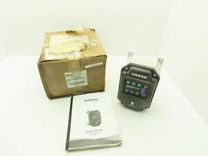 Danfoss X4C20030C Vacon VFD Variable Speed Drive 3Ph 230V 2HP Motor 4X Outdoor