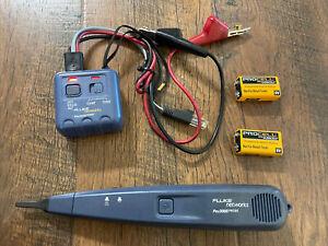 Fluke Networks 26000900 Pro3000 Series Analog Tone & Probe Kit With Case