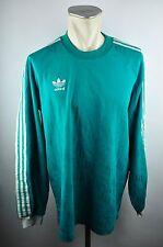 adidas Vintage 90er Trikot Shirt Gr. L grün oldschool alt Fußball TOP 80er