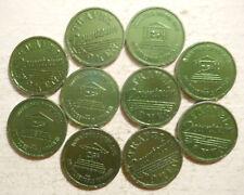 New listing Lot of 10 Downtown Dayton (Ohio) transit tokens - Oh230Aj
